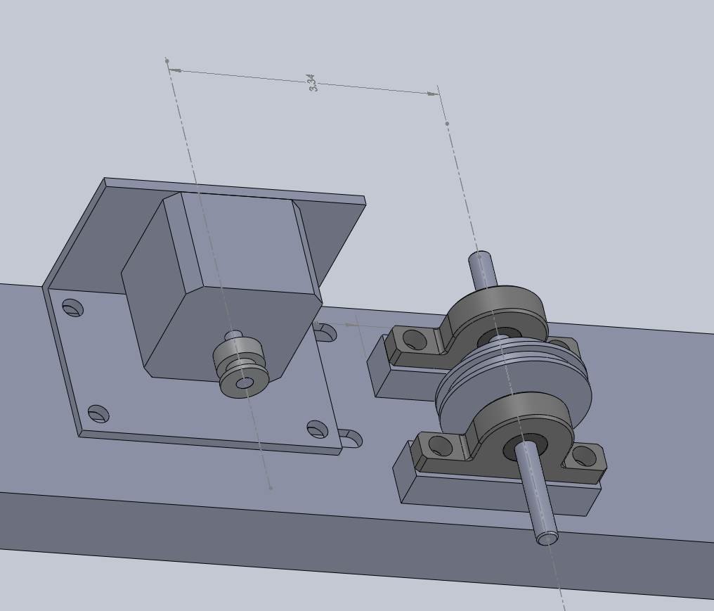 Using Solidworks to design Stepper Motor Assembly (1) – The